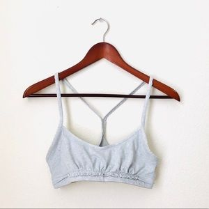 lululemon athletica Intimates & Sleepwear - Lululemon•Grey Sports Bra size 6